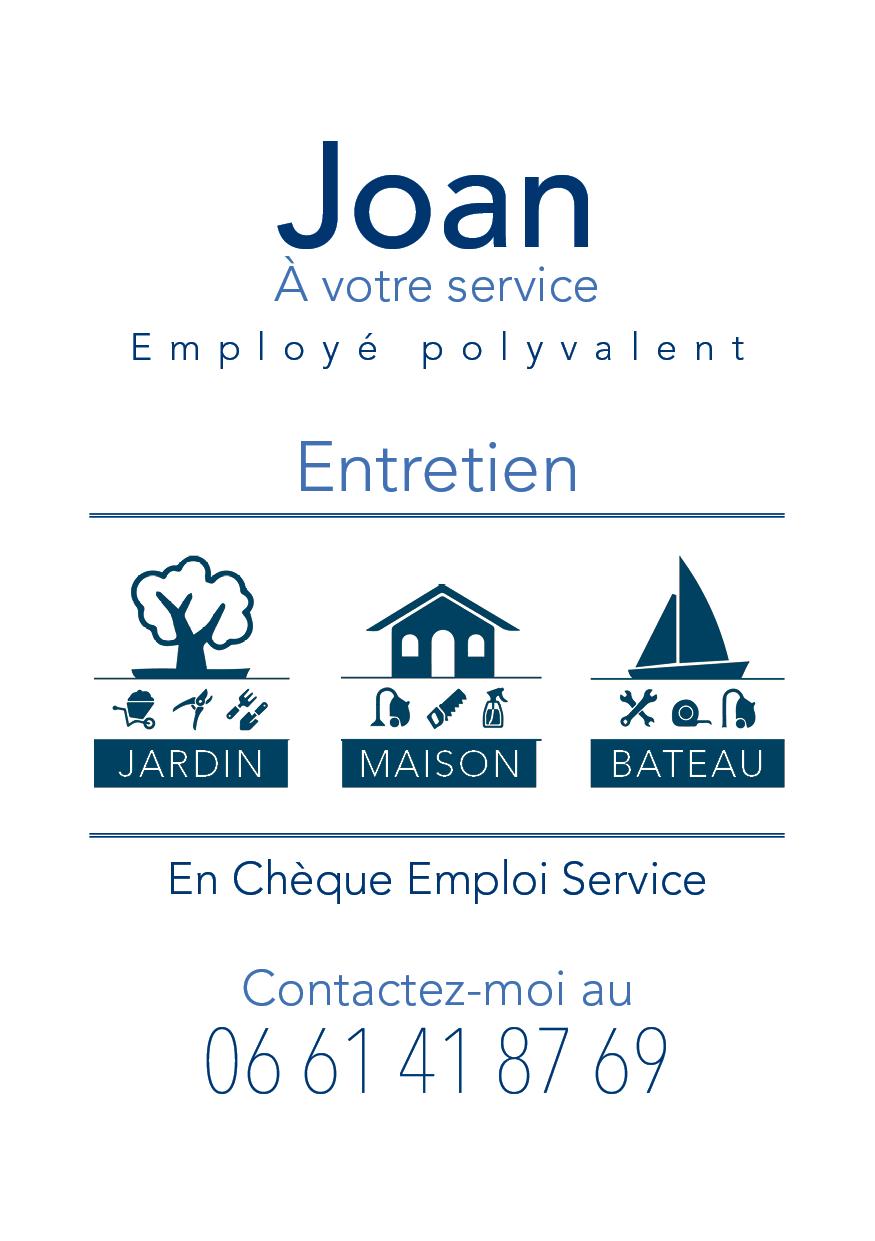 Création d'une carte de visite pour employé polyvalant