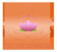 création d'un logo pour le centre de beauté et bien être Kalaya massage