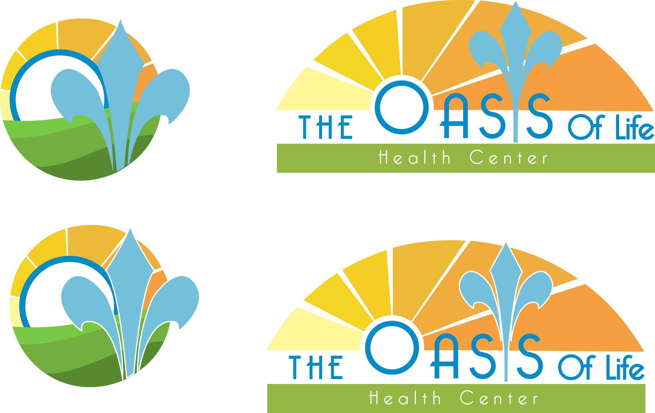 Création du logo pour l'entreprise the Oasis of life health centre
