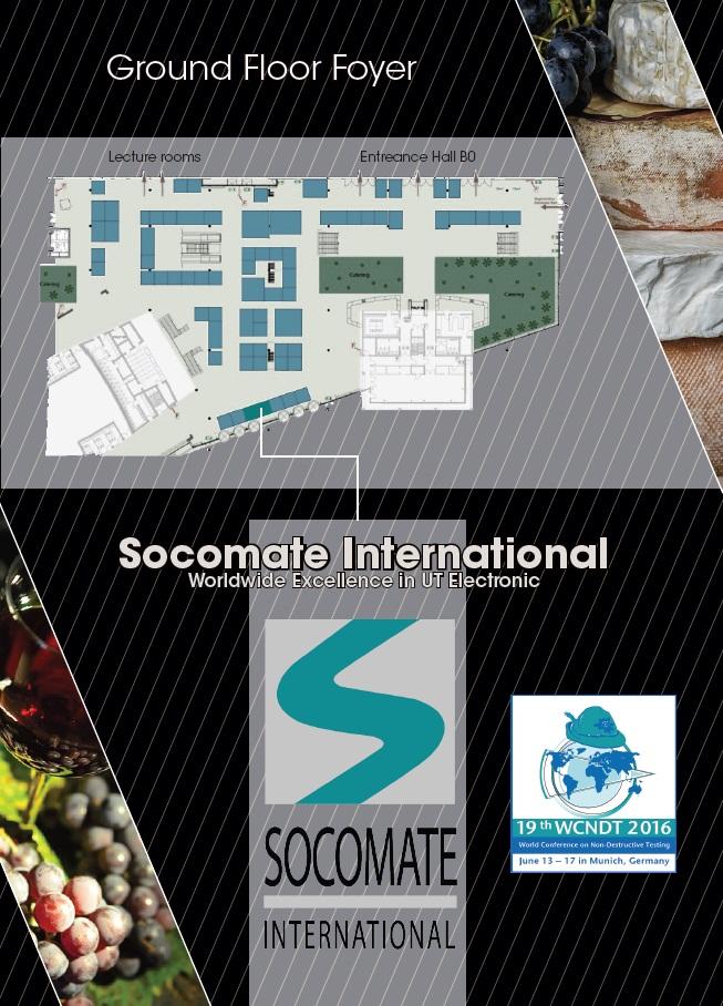 Flyer invitation de l'entreprise Socomate