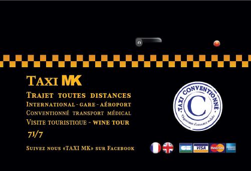 Création d'une carte de visite pour chauffeur de taxi